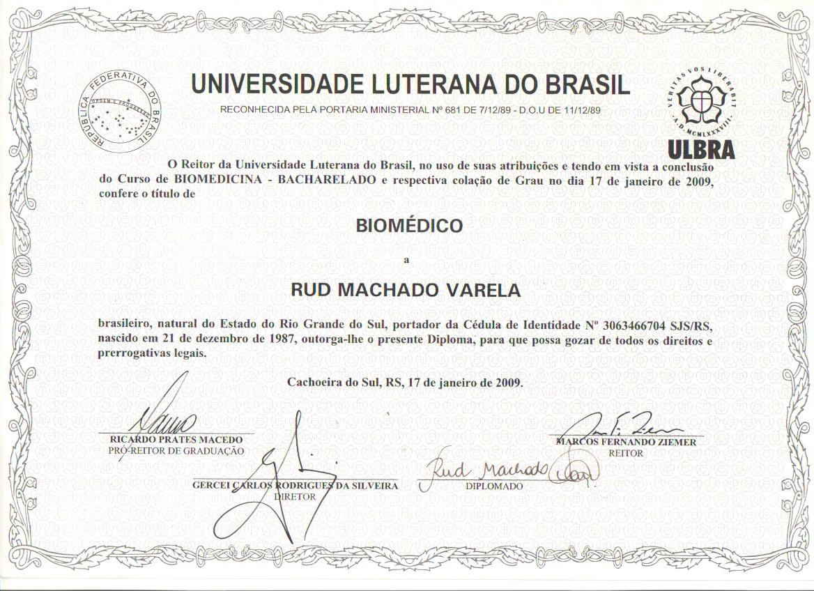 17 de janeiro de 2009 - Meu Biomédico Esteta
