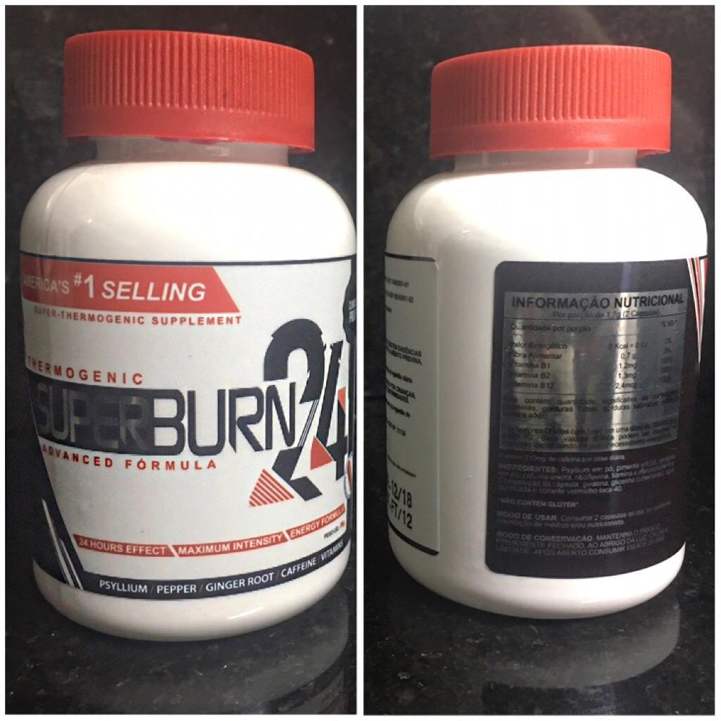 SuperBurn 24 – Aquele termogênico que você mais respeita !